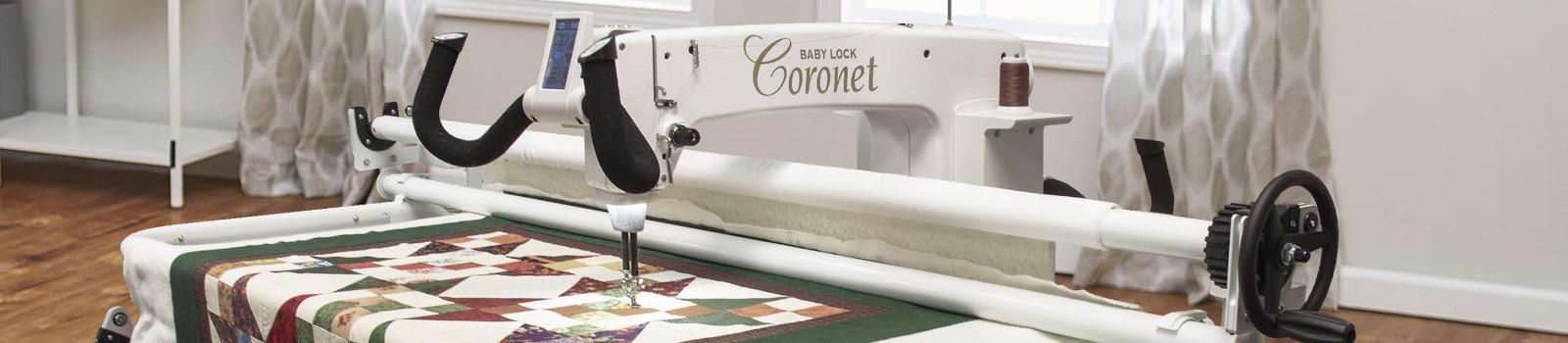 Baby Lock Coronet Longarm Quilting Machine