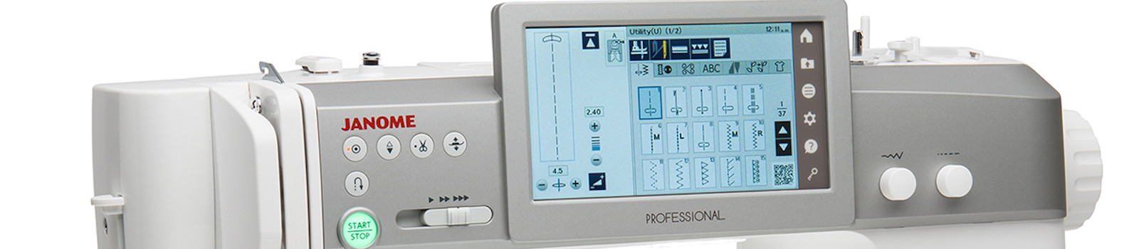 Janome M7 Professional Embroidery Machine