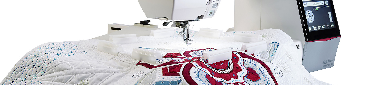 Janome Horizon Quilt Maker Memory Craft 15000 Embroidery Machine