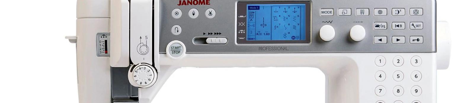 Janome Memory Craft 6700P Embroidery Machine