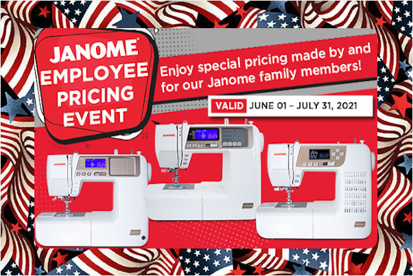 Janome Special Promotions