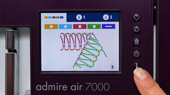Color Touch Screen