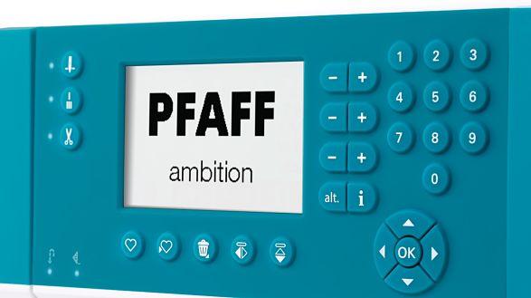 PFAFF® LCD Screen