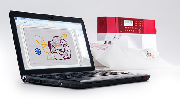 Embroidery Intro PC and MAC Software included