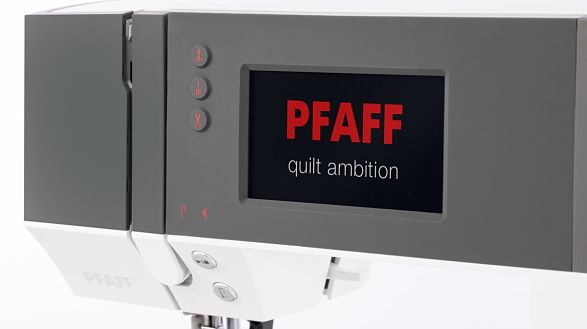 PFAFF® Color Touch Screen