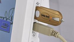 BABY LOCK IQ TECHNOLOGY2 USB DRIVES (1 TYPE A, 1 TYPE B)
