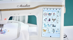 Baby Lock Meridian - 494 Embroidery Designs