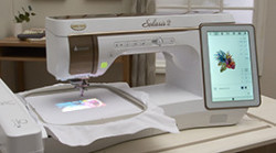 Baby Lock Solaris 2 Precise Embroidery Placement