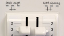 Baby Lock Sashiko Stitch Length and Spacing Control