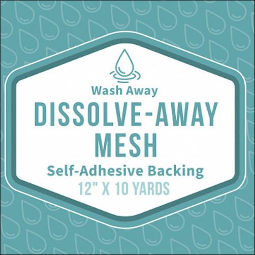 Baby Lock Dissolove Away Mesh Self Adhesive
