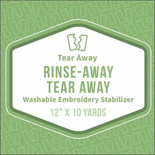 Baby Lock Rinse Away, Tear Away Stabilizer