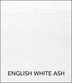 Koala Studio Cabinet Finish - English White Ash