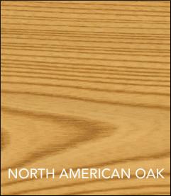 Koala Studio Cabinet Finish - North American Oak Finish