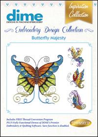 DIME Inspiration Designs - Butterfly Majesty