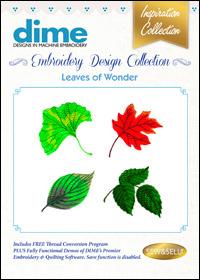 DIME Inspiration Designs - Leaves of Wonder