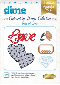 DIME Inspiration Designs - Lots of Love