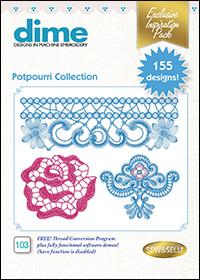 DIME Inspiration Designs - Potpourri Collection