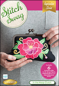DIME Inspiration Stitch Swag - In the Hoop Clutch