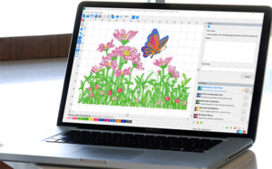 DIME Inspiration Software - Embroidery Tool Shed Stitch Screen