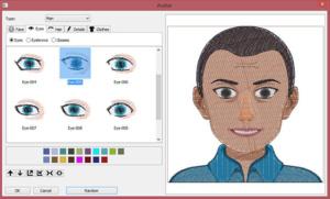 DIME Inspiration Software - My Emoji Stitches, Male