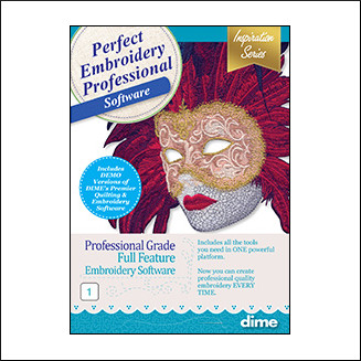 DIME Inspiration Software - Perfect Embroidery Pro