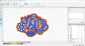 DIME Inspiration Software - My Lace Maker, Lace Grid