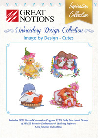 Great Notions Embroidery Designs - Image by Design – Cutes