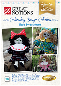 Great Notions Embroidery Designs - Little Sweethearts