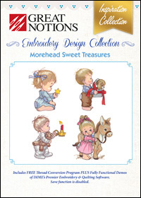 Great Notions Embroidery Designs - Morehead Sweet Treasures