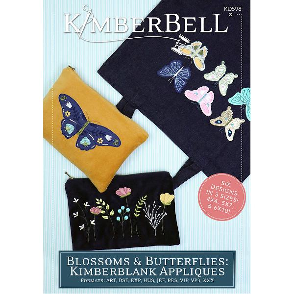 Kimberbell Designs - Blossoms & Butterflies, Kimberblank Appliques