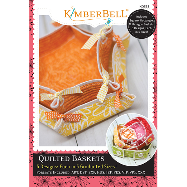 Kimberbell Designs - Quilted Basket