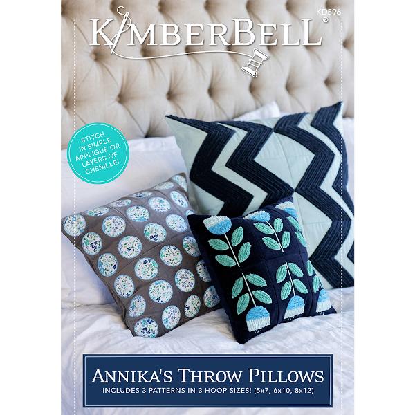 Kimberbell Designs - Annika's Throw Pillows