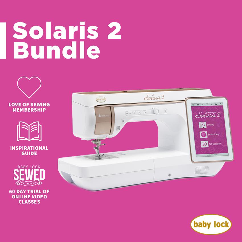 April 2021 Baby Lock Solaris