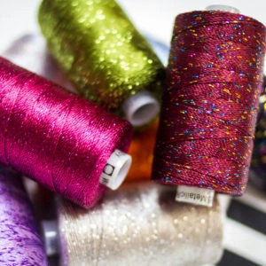 Wonderfil Dazzle™ - 8wt/6ply Rayon with Metallic Thread