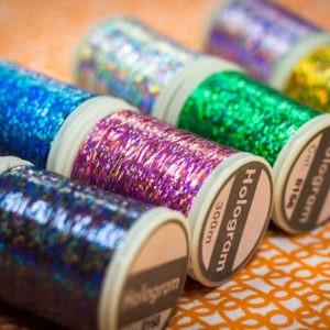 Wonderfil Hologram™ - Slitted Polyester Thread