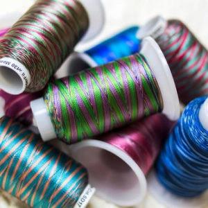 Wonderfil Mirage™ - 30wt Random-Dyed Rayon Thread