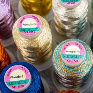 Wonderfil Spotlite™ - 40wt Rayon-Core Metallic Thread