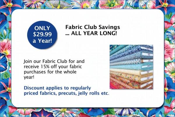 Ready Set Sew Fabric Club